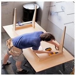 Сборка столов по низким ценам в Нижнем Новгороде от специалистов