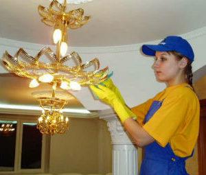 Мытье люстр в Нижнем Новгороде