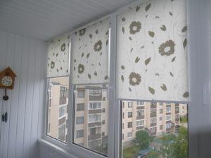 Установка рулонных штор на пластиковые окна в Нижнем Новгороде