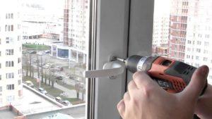 Замена ручки на пластиковом окне