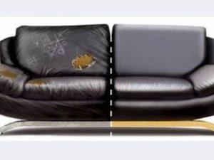 Перетяжка кожаного дивана в Нижнем Новгороде