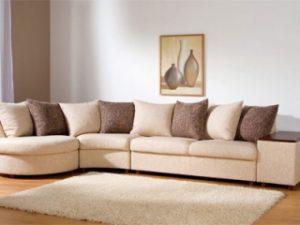 Перетяжка углового дивана на дому в Нижнем Новгороде